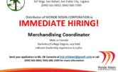 Merchandising Coordinator