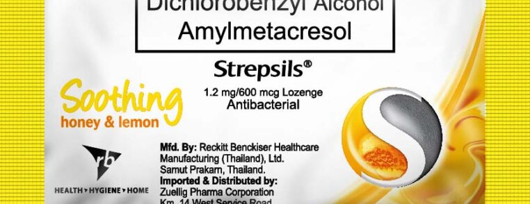 Strepsils Honey and Lemon 2s