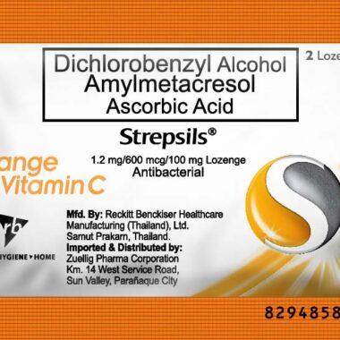 Strepsils Orange 2's